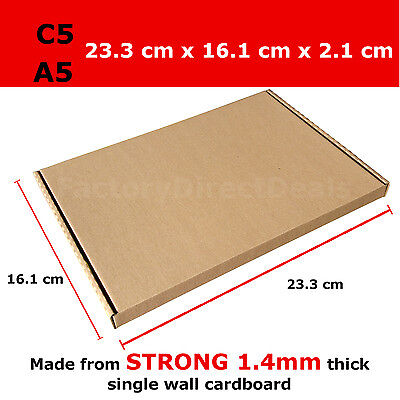 1000 x  PIP POSTAL BOXES SIZE C5 A5 ROYAL MAIL LARGE LETTER STRONG CARDBOARD BOX