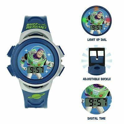 Disney Toy Story Buzz Lightyear Blue Plastic Strap Watch