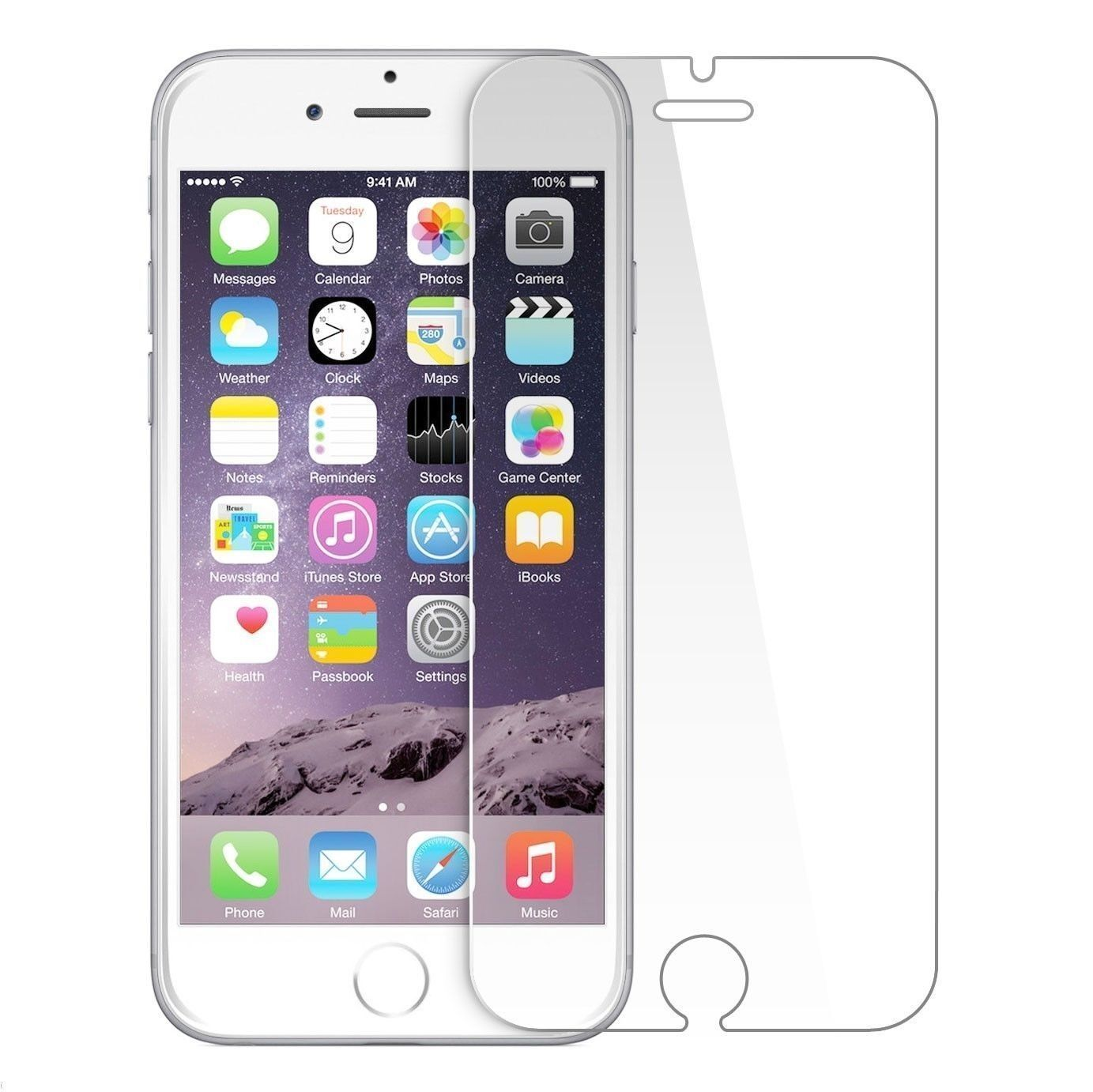 3D Full Coverage Tempered Glass Screen Protector Cover For iPhone 6 6S 7 8+ Plus Cell Phone Accessories