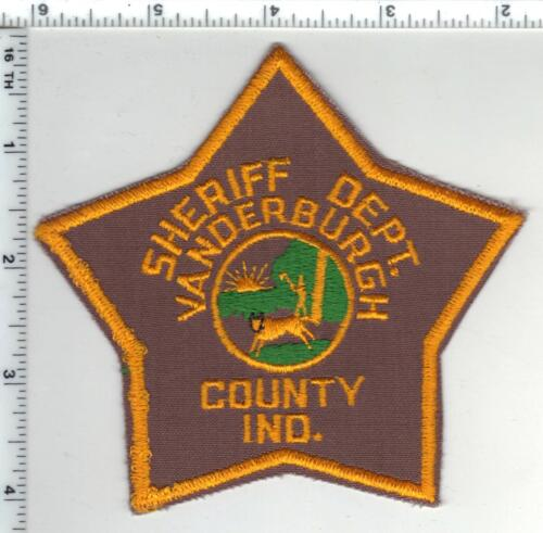 Vanderburgh County Sheriff Dept (Indiana) 3rd Issue Shoulder Patch