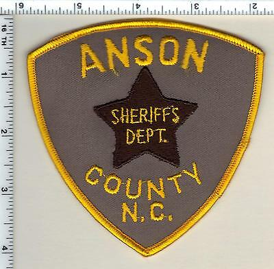 Anson County Sheriff's Dept. (North Carolina) Shoulder Patch from 1987