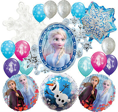 Frozen Party Balloons (FROZEN 2 PARTY BALLOON balloons BIRTHDAY PARTY SUPPLY DECORATION)