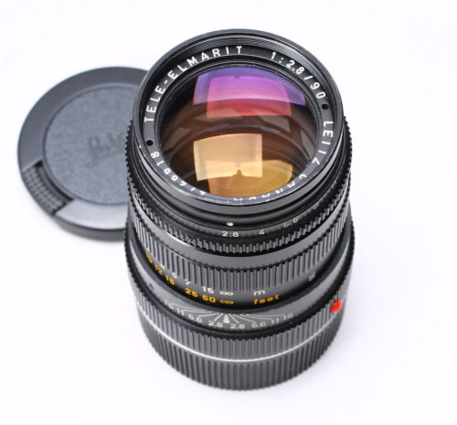 LEICA LEITZ TELE-ELMARIT 90MM F/2.8 M MOUNT LENS No. 2728618