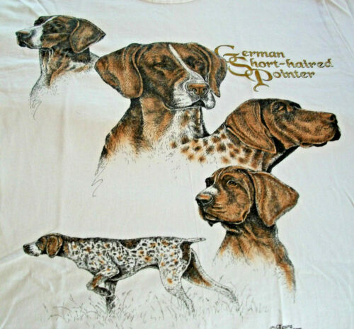 "German Shorthaired Pointer Sweatshirt "" White "" MED ( 38 ~ 40 )"