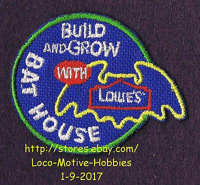 Lmh Aufnäher Bat Haus Home Häuser Verpackung Lowes Bauen Gewächs Kinder