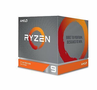 AMD Ryzen 9 3900X 12-core, 24-Thread Unlocked Desktop Processor with LED Cooler