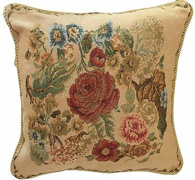 1 Piece Decorative Tapestry Floral Country Morning Meadow Cushion Pillow Cover