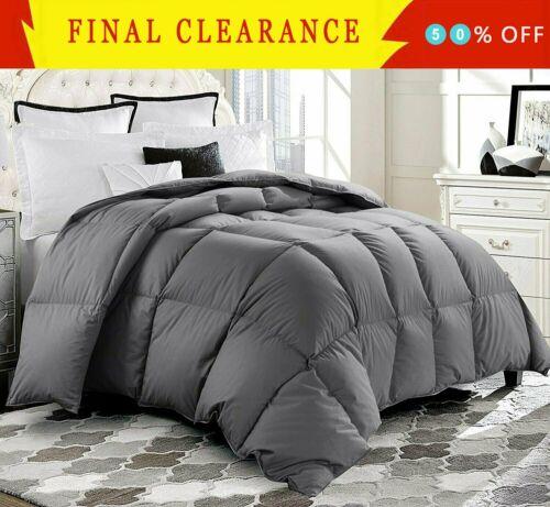 Luxury Supersoft Goose Down Alternative Comforter Twin Queen