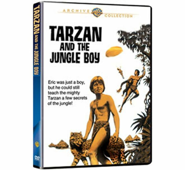 TARZAN AND THE JUNGLE BOY (1968 Mike Henry) Region Free DVD - Sealed