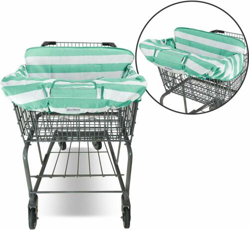 2in1 Shopping Cart Covers High Chair For Baby Toddler Surface Protection