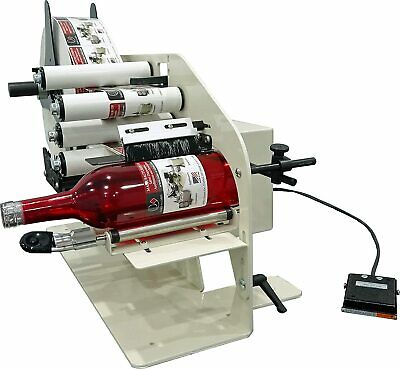 Electric Bottle Label Applicator 21000 Machine Model Tal-2100er Take-a-label
