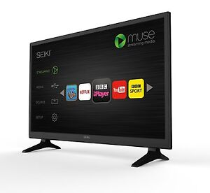 NEW SEIKI HD-TV 28INCH SMART LED TV WITH BUILD-IN WI-FI AND FREEVIEW 28
