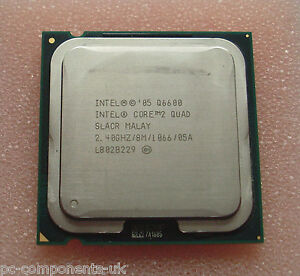 INTEL CORE 2 QUAD Q6600 SOCKET 775 CPU ~ SLACR