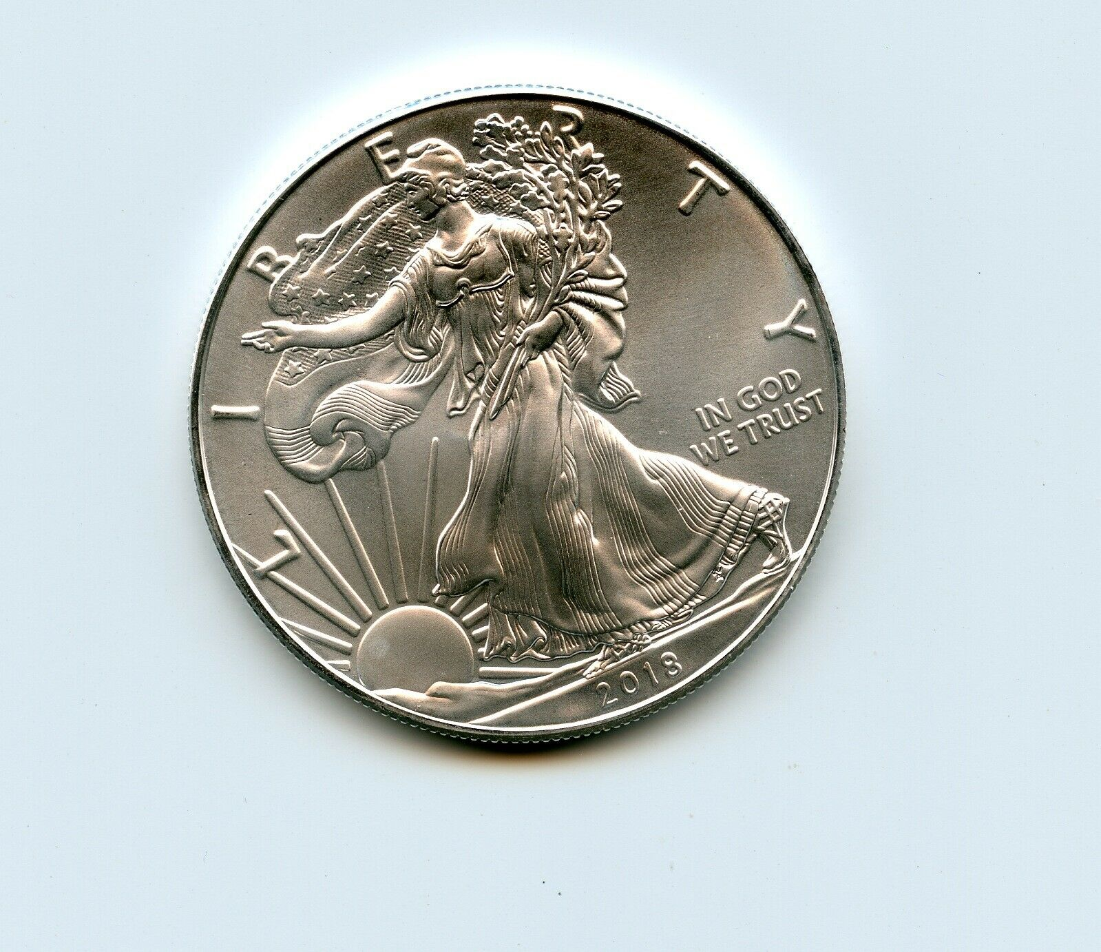 2018 United States Silver Eagle Unc - $35.50