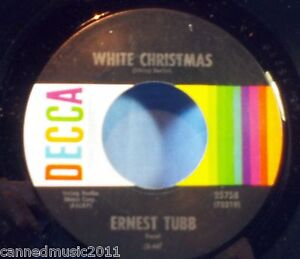 Ernest-Tubb-White-Christmas-Blue-Christmas-New-UNPLAYED