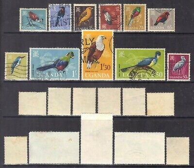 Uganda 1965 Birds.SG.113-23.