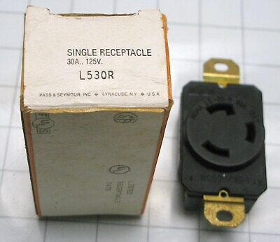 Pass /& Seymour Straight Blade Receptacles R SINGLE 20403N