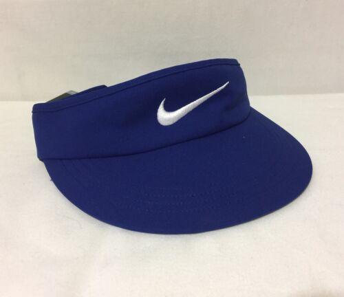 NWT-Nike-Golf-Tall-Adjustable-Visor-Deep-Royal-