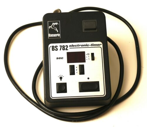 Baeuerle BS 782 Electronic Timer Made in Germany