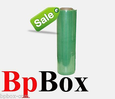 90 Gauge Stretch Film Rolls Shrink Wrap 18 X 1000 Color Green 1 Roll