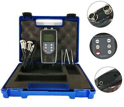 3d Vibration Meter Tester Double Channel Vibrometer Gauge Vm-6380-2