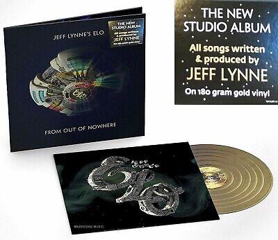 ELO LP From Out Of Nowhere 180 Gram GOLD VINYL LENTICULAR Slv 3-D E.L.O. IN STOC