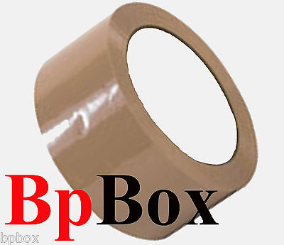 Light Brown 12 Tape 2 X 110 Yards Packaging - Light Weight -