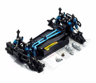 HSP RC CAR PRO 1/10 Brushless Truck full rolling roller chassis