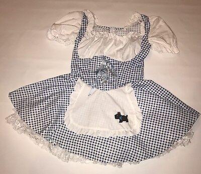 Womens Wizard of Oz  Dorothy Dress Size Small Halloween California Costume - Dorothy Costume Womens
