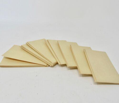 Vintage Manila Small Cash Envelopes 30 No Box Sealable