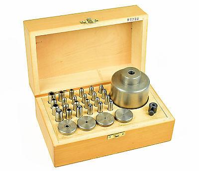THA# BERGEON 1728 - Uhrmacher Sortiment PUNZEN & NIETAMBOSSE Uhr watchmaker tool
