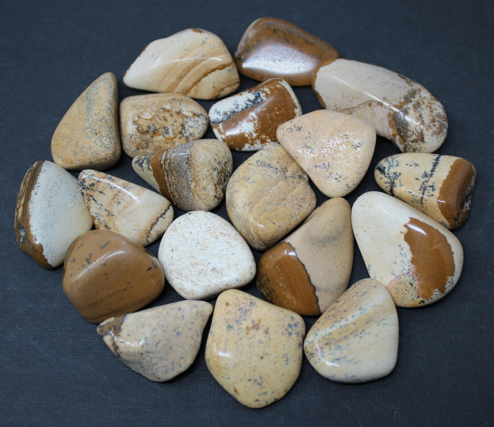 1/4 lb Lots Wholesale Bulk Tumbled Stones: Choose Type (Crystal Healing, 4 oz) B