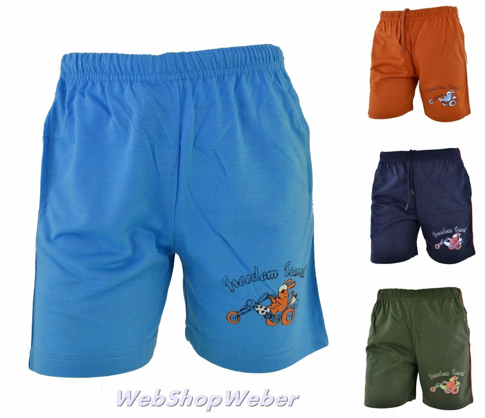 Jungen Kinder Shorts kurze Hose Sommer Jungs Knaben Sport Sporthose Neu