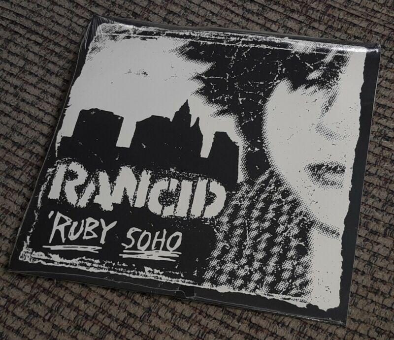 "Rancid Ruby Soho 7"" 45 RECORD original 1995 Epitaph FACTORY SEALED Punk Rock"