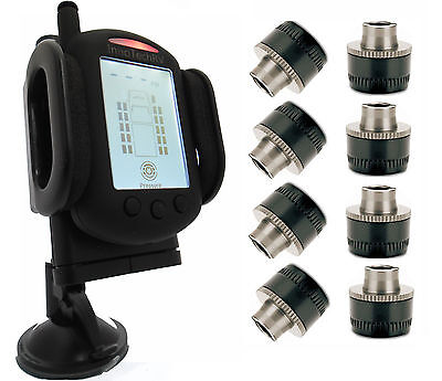 Tire Pressure Monitoring System for Truck or RV - TPMS 8 Sensors - Minder