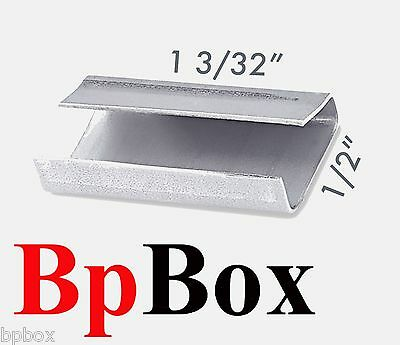1 2  Metal Poly Strapping Seals   1000 Pcs   Pick Up Only
