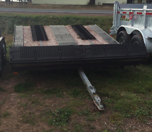 USED SCOTT SNOW MOBILE TRAILER