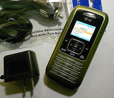 GOOD! LG enV vx9900 ENVY Green Camera QWERTY Bluetooth Flip VERIZON Cell Phone
