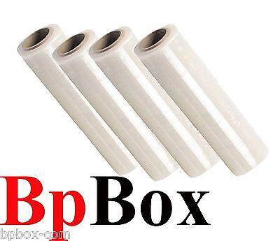 80 Gauge Stretch Film Rolls Packaging Shrink Wrap 18 X 1000 4 Clear