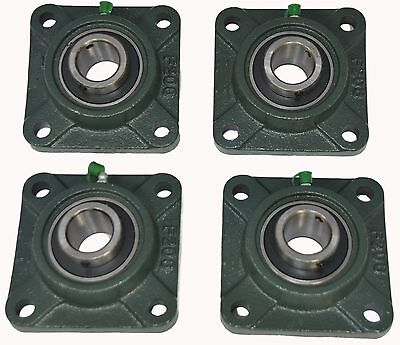Ucf205-16 1 Square 4 Bolt Flange Block Mounted Bearing Unit Qty. 4