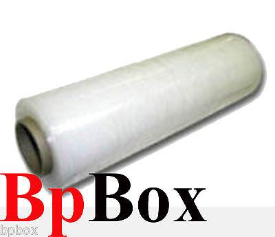 80 Ga - 1 Clear Stretch Film Rolls Wrap Packaging 18 X 1000