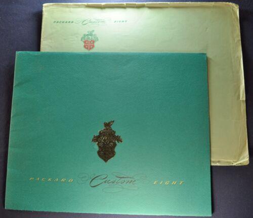 1948 Packard Custom Prestige Catalog Brochure + Envelope Excellent Original 48