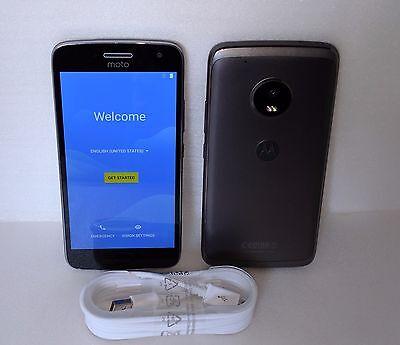 Moto G Plus (5th Generation) - Lunar Gray - 64 GB Unlocked XT1687 G5 4GB RAM (*)