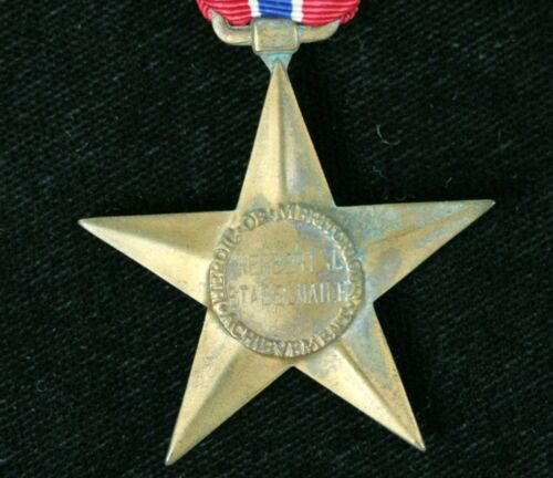 WWII NAMED US BRONZE STAR