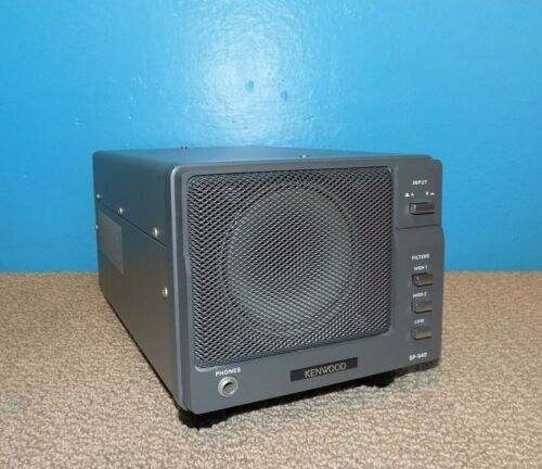 Kenwood SP-940 External Radio Speaker Very Good Condition Free Shipping