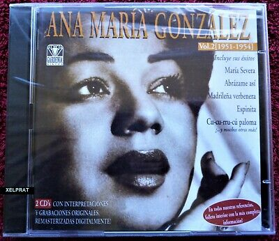 ANA MARIA GONZALEZ Vol 2 . 1951 1954 - 2 CD -...