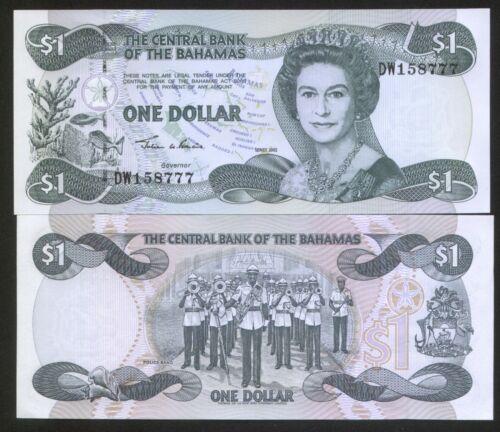 Bahamas 1 Dollar 2002 Pick 70 UNC #158777