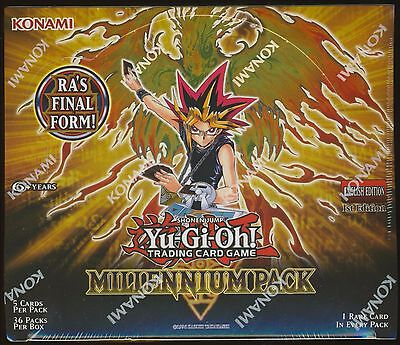 Yu-Gi-Oh Millennium Pack 1st Edition U.S English SEALED Booster Box Yugioh