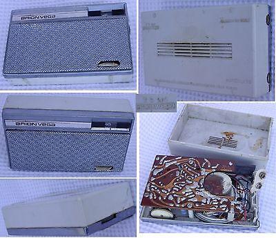 brionvega TS207 radio AM transistor bonetto ac adaptor zanuso sapper bellini 217