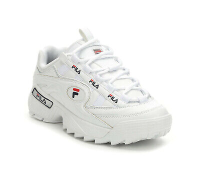 Fila Men's D-Formation Sneakers 1CM00489-125 - White/Navy/Red